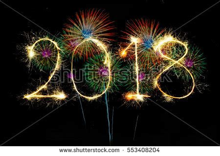 new year 2018 stock images royalty free images vectors