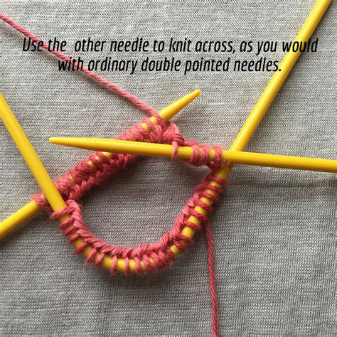 how to knit in the with circular needles show and tell knitting with neko curved pointed