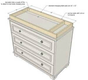 Building A Changing Table White Build A Fillman Dresser Or Changing Table Free And Easy Diy Project And Furniture