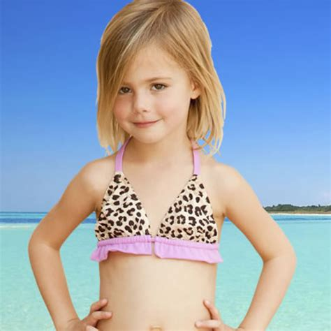 little girl child models is elizabeth hurley s line of kid bikinis too sexy