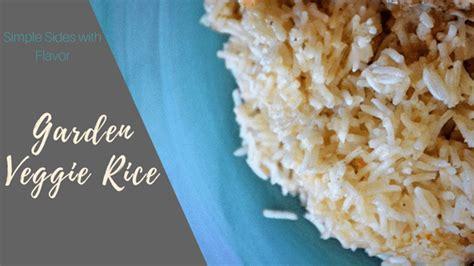 garden vegetable rice garden veggie rice a simple way to make rice with flavor