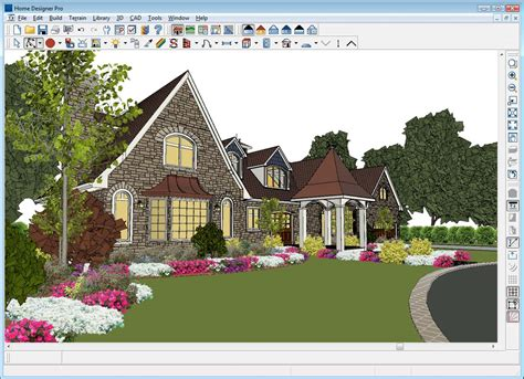 home design software free exterior home designer pro