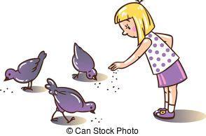 alimentazione piccioni piccioni illustrazioni e clipart 6 016