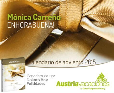 Calendari D Advent 2015 Guanyadors Calendari D Advent 2015 El De Viatges