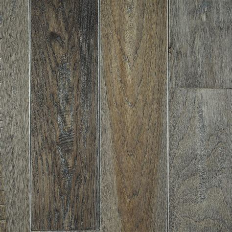 Hardwood Flooring Grey Blue Ridge Hardwood Flooring Hickory Heritage Grey Solid Hardwood Flooring 5 In X 7 In Take
