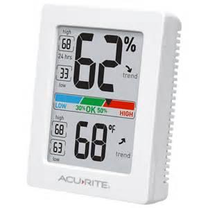 comfortable indoor temperature pro indoor temperature and humidity monitor acurite