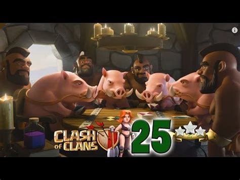 let s play clash of clans part 25 govaho 3 base update german hd