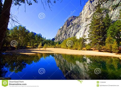 nature outdoor landscape with water and mountains stock