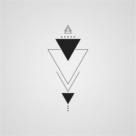 triangle tattoos designs studiominimalista