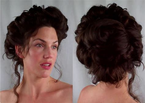 how to gibson hair edwardian victorian vintage retro