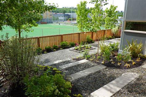 Landscape Architecture Seattle Concrete Steps In Landscape Contemporary Landscape