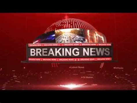 Breaking News Intro After Effects Templates 2015 Youtube Breaking News Template