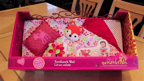 our generation doll bed opening review our generation american girl doll bed