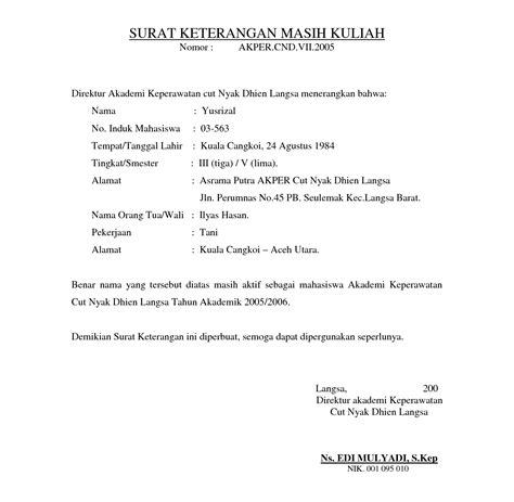 contoh surat pernyataan remaja indonesia the