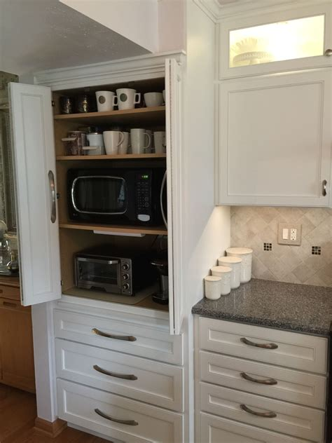 appliance cabinet great  hide microwave toaster oven