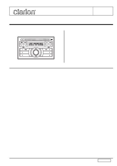 clarion dxz375mp wiring diagram 31 wiring diagram images