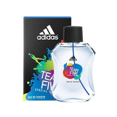 Parfum Adidas Team adidas eau de toilette team 5 100ml tous les produits