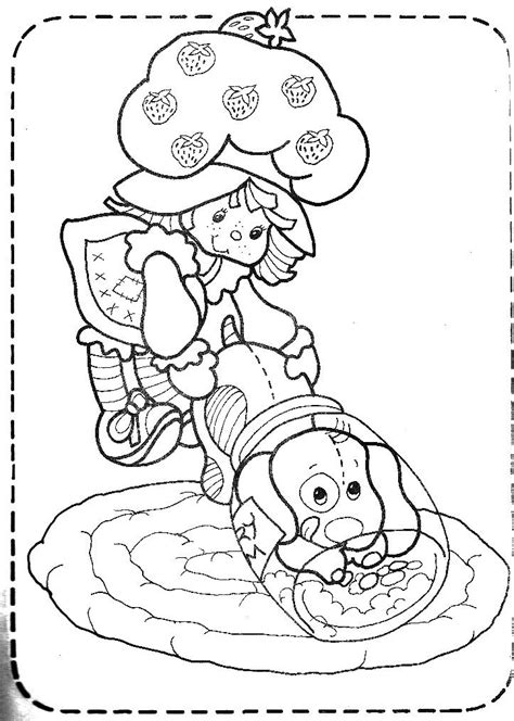 strawberry shortcake coloring pages games 228 best strawberry shortcake images on pinterest