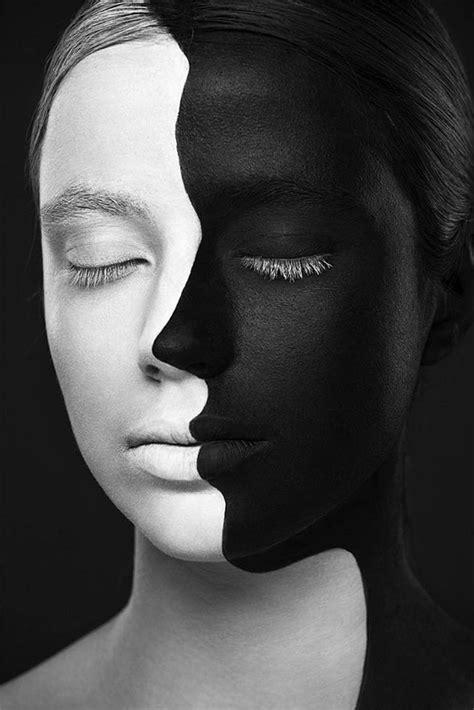 Mujeres con maquillaje artístico en 2 dimensiones