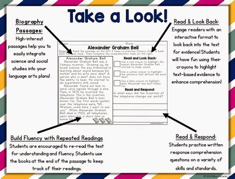biography book clubs for third graders text evidence reading passages biography edition miss