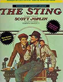 the sting of the books the sting songbook joplin marvin hamlisch