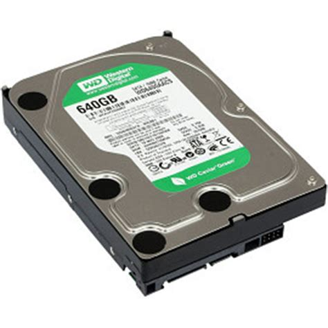 Hardisk Laptop Wd 640gb Western Digital Wd6400aacs 640gb 7200rpm Sata Ii Drives