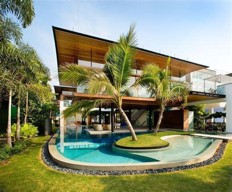Environmentally Friendly Houses house tour million dollar home in sentosa cove