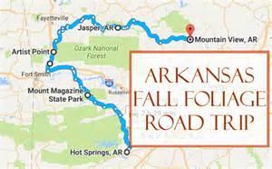 arkansas fall colors take this fall foliage road trip to see arkansas like