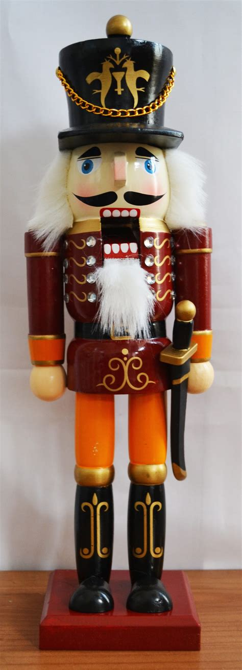 nutcracker ballet traditional solid wood nutcracker