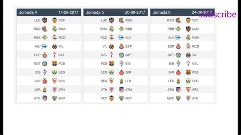 la premier league table la liga table league 2017 brokeasshome com