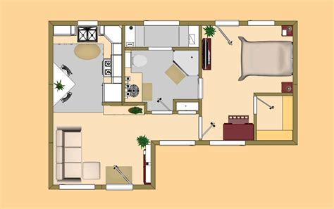 small house plans under 500 sq ft tiny house plans 500 square feet