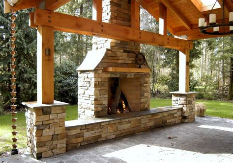 Rumford Outdoor Fireplace by Marinelli