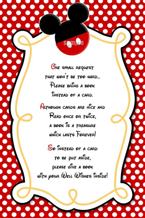 mickey mouse party invitations 8