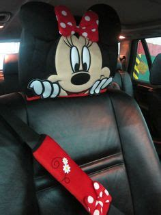 minnie mouse car accessory 1 rest cover cars mice and accessories