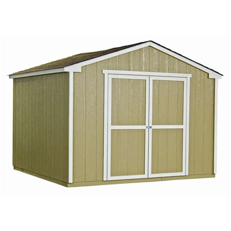 handy home products princeton  ft   ft wood storage