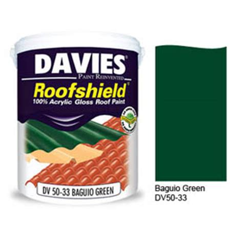 davies roofshield baguio green dv50 33 4l tacloban ultrasteel corporation