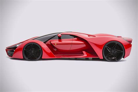 Curves For Days Ferrari F80 Supercar Concept Car The