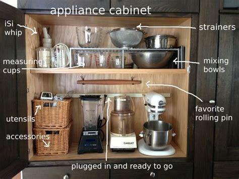 how to arrange kitchen appliances best 25 kitchen appliance storage ideas on appliance cabinet diy kitchen