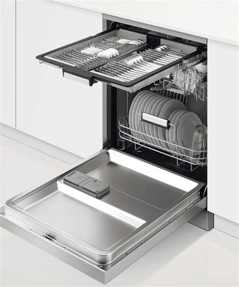 Dishwasher Cutlery Drawer by Dw60fc6x1 Fisher Paykel Freestanding Dishwasher