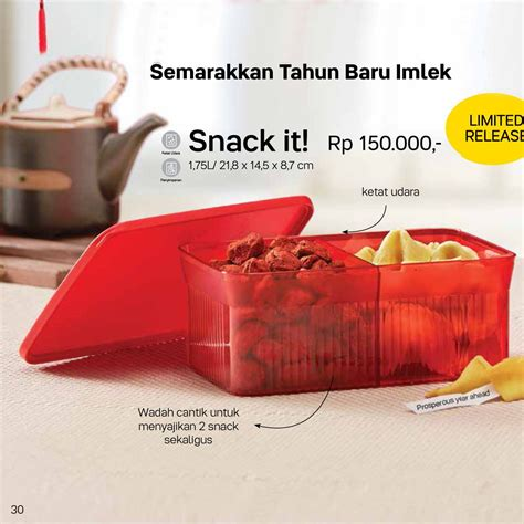 Tupperware Snack It snack it tupperware katalog promo terbaru tupperware