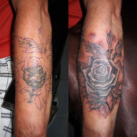 faded rose tattoo chiang mai ink 187 coverups