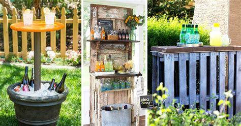 idee per un giardino fai da te mini bar fai da te da giardino 20 idee da vedere
