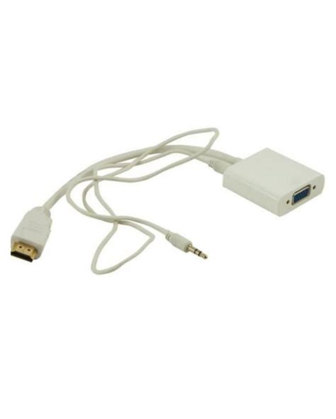 hdmi to vga adapter best buy buy hdmi to vga audio hd cable converter adapter in