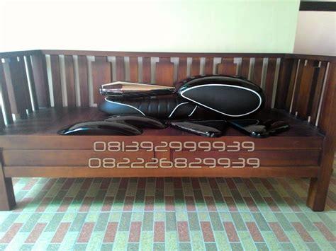 Tangki Custom Dan Jok Roti 1 Paket tangki knalpot kustom tangki knalpot dan jok kustom
