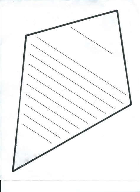 printable paper kites blank kite template free download