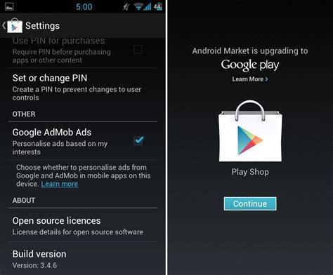 googe play store apk get the play store apk 3 4 6 here the android soul