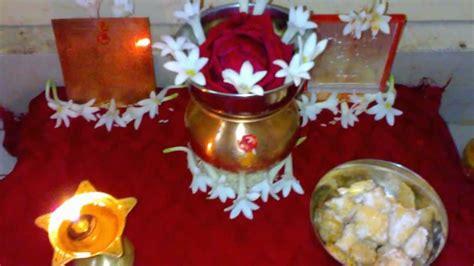 Decoration Of Lakshmi Pooja by Vaibhava Lakshmi Puja Decoration Ideas Studio Design