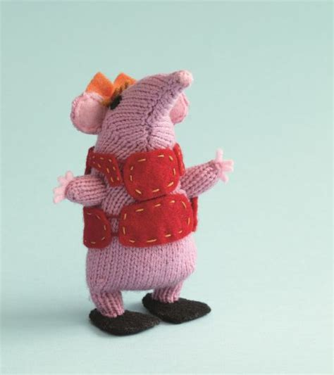 Knitting Pattern For Clangers | original clangers knitting pattern free craft project