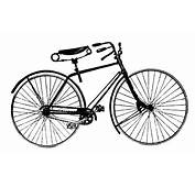 The Gallery For  &gt Vintage Bikes Clipart