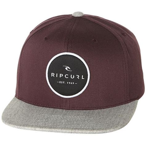 Rip Patch Basic Rip Curl Cylinders Snapback Cap 29 Cad Liked On Polyvore